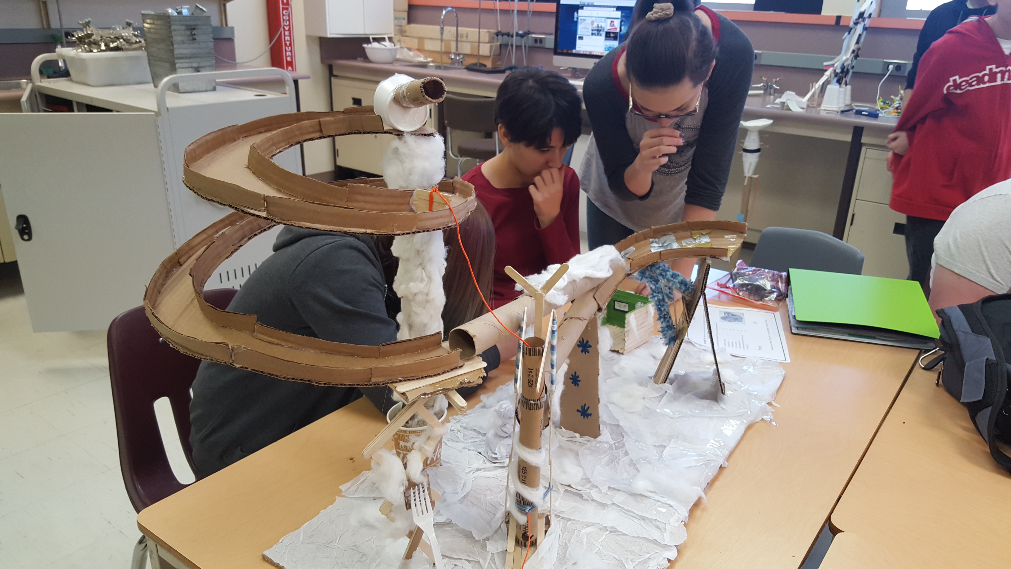 PBL: Marble run project with physics emphasis