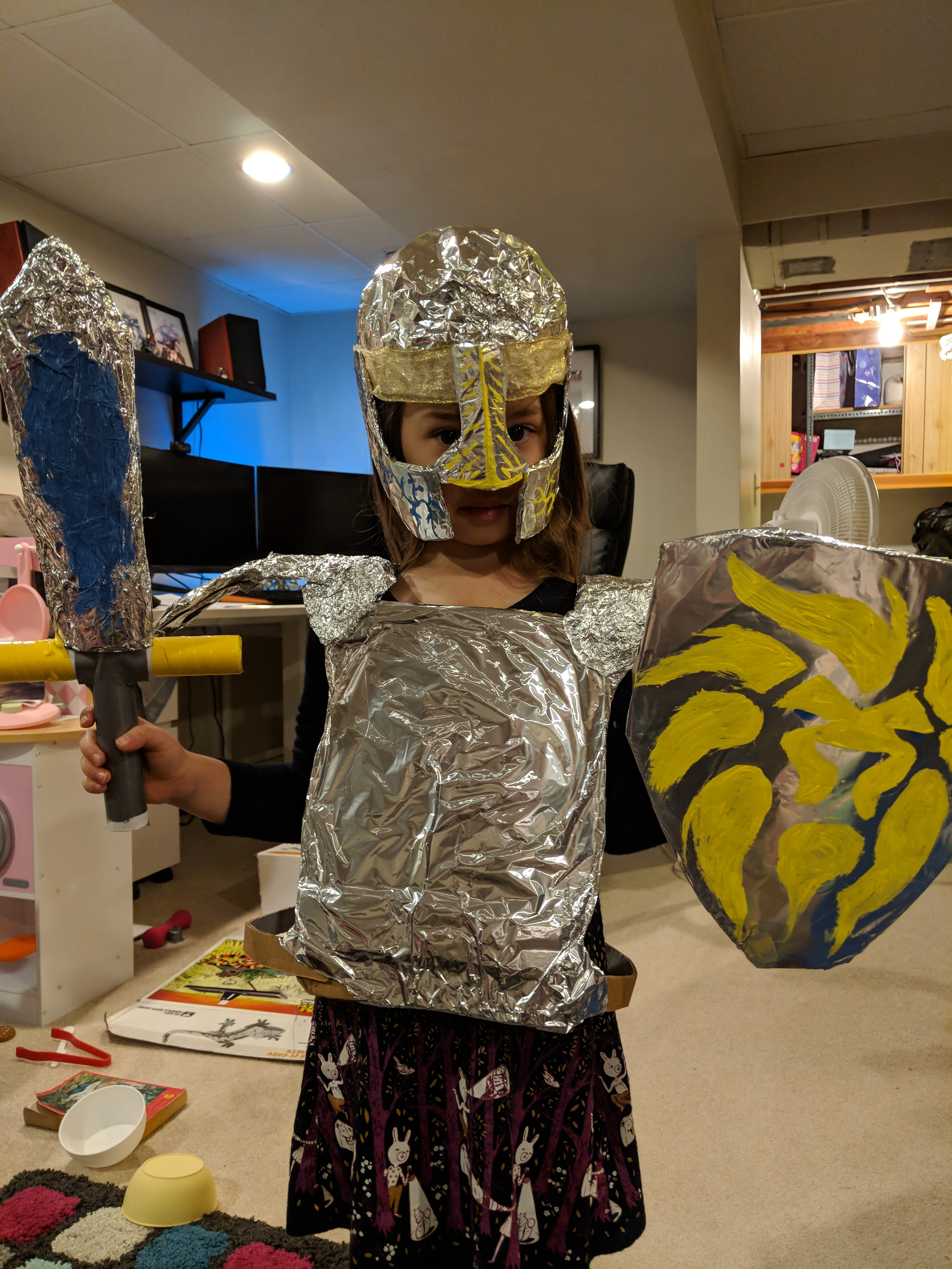 Medieval armour for kids