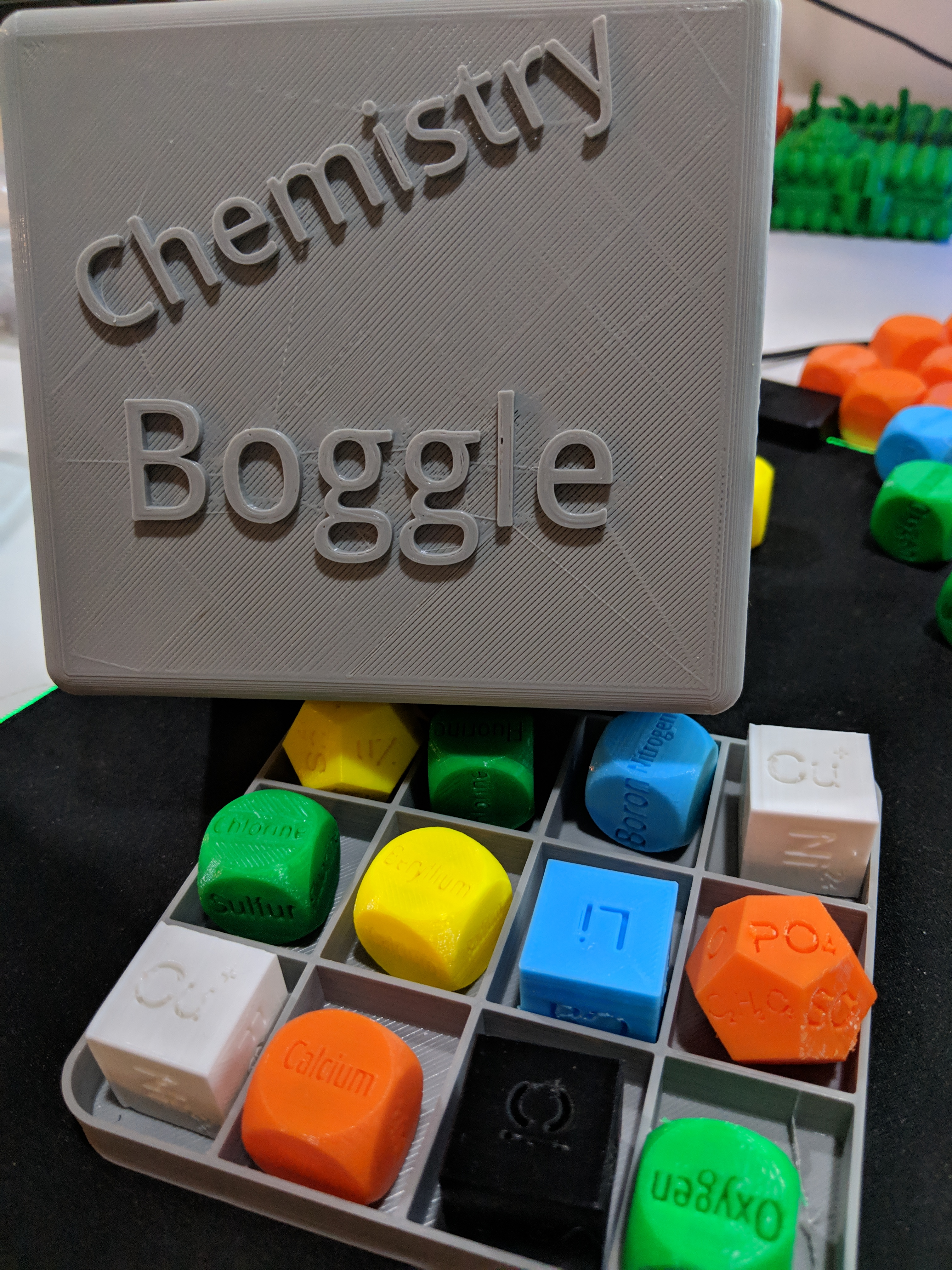 Chemistry Boggle
