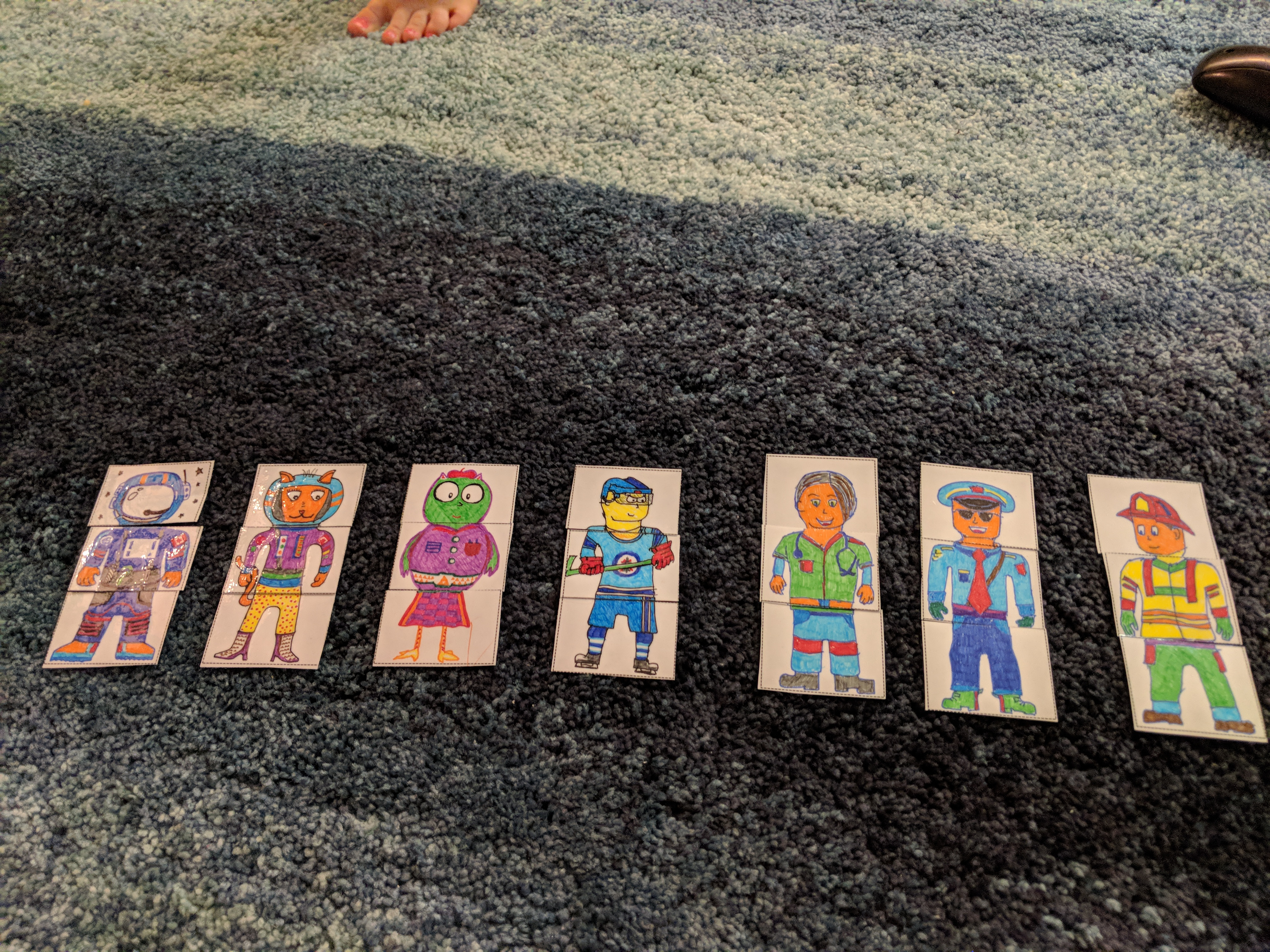 Read more about the article Mix and match activity for toddlers