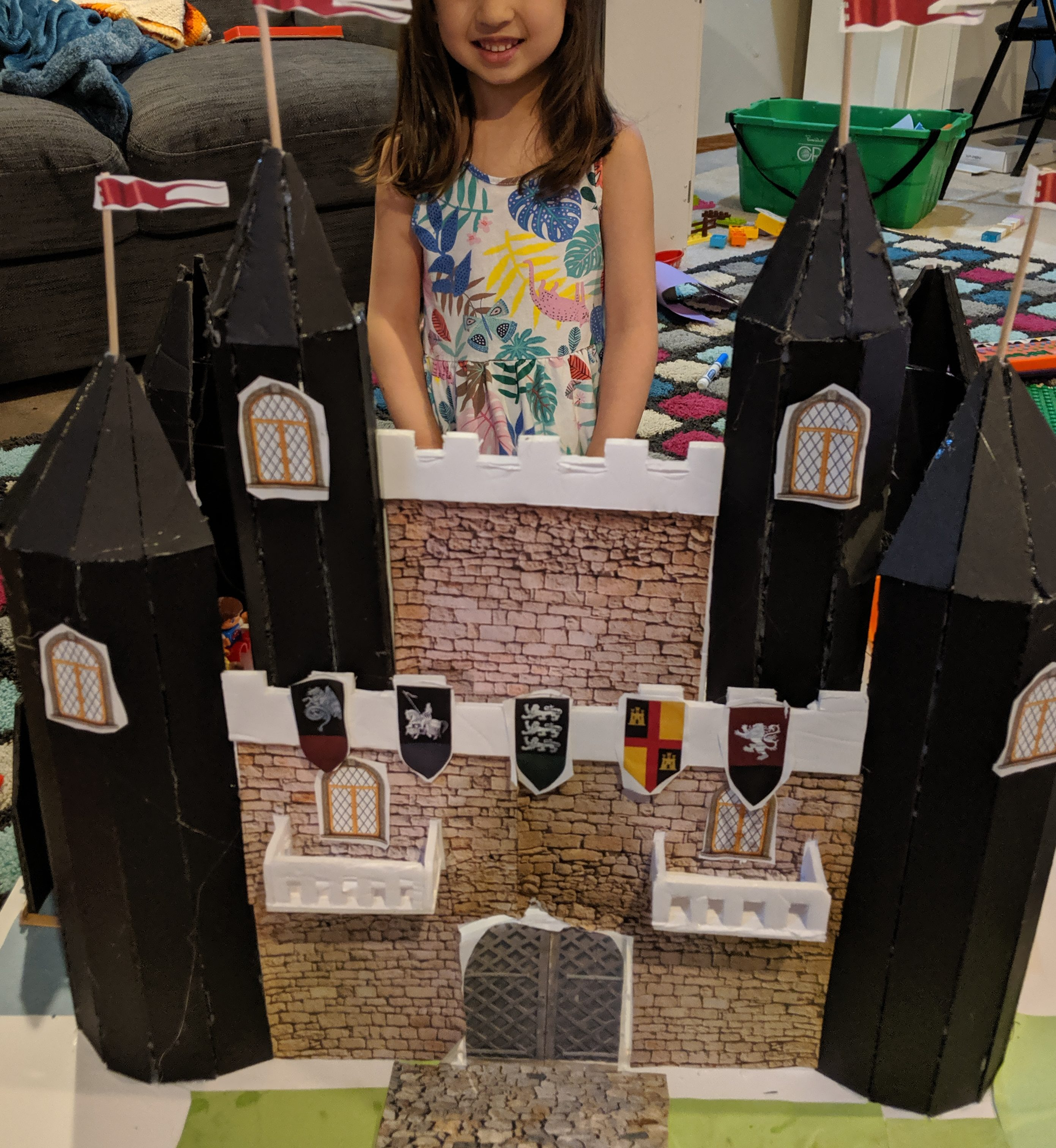 Read more about the article Building a toy castle